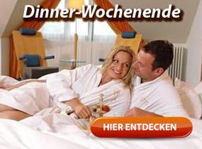 Dinner-Wochenende, romantische Kurzreise, Kultur-Trip uvm.