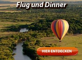 Erlebnisdinner in luftiger Hoehe - Gourmet, Ballonfahrt