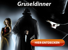 Dracula, Jack the Ripper oder Frankenstein beim Gruseldinner kennenlernen