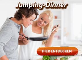 Jumping-Dinner - Leute beim gemeinsamen Kochen kennenlernen