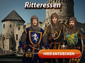 Angebote und Infos zum Ritteressen und Rittermahl